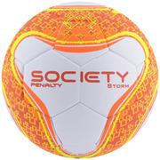 Bola Society Penalty Storm Ultra Fusion VI Branco Laranja