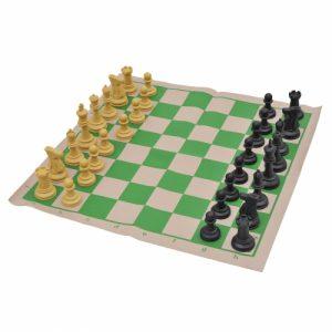 Jogo de Xadrez Modelo Escolar Oficial Jaehrig
