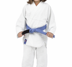 Kimono de Judô Torah Combate com Faixa Branco  – INFANTIL