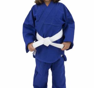 Kimono de Judô Torah Combate Com Faixa Azul – Infantil