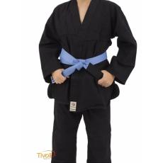 Kimono de Judô Torah Combate com Faixa Preto  – INFANTIL