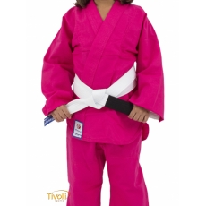 Kimono de Judô Torah Combate com Faixa Rosa  – Infantil