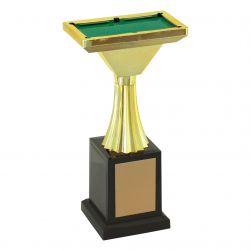 Troféu Vitória snooker cód.500381 22 cm