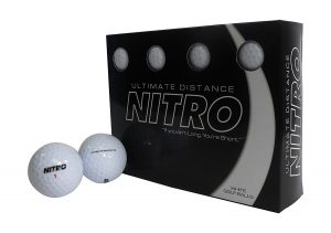 Bola de Golf Ultimate Distance Nitro