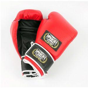 Luva de Boxe Profissional 316 Punch Vermelho