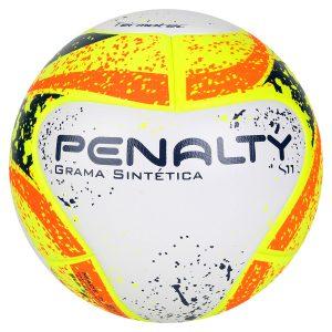 Bola Futebol Society Penalty S11 R1 KO 7 – Branco e Laranja