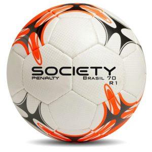 Bola Futebol Society Penalty Brasil 70 R1 – Preto Laranja