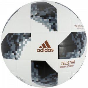 Bola de Futebol de Campo Telstar Oficial Copa do Mundo FIFA 2018 adidas Top Replique X