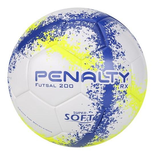 Bola Futsal Penalty RX 200 R3 Fusion VIII – Branco e Amarelo