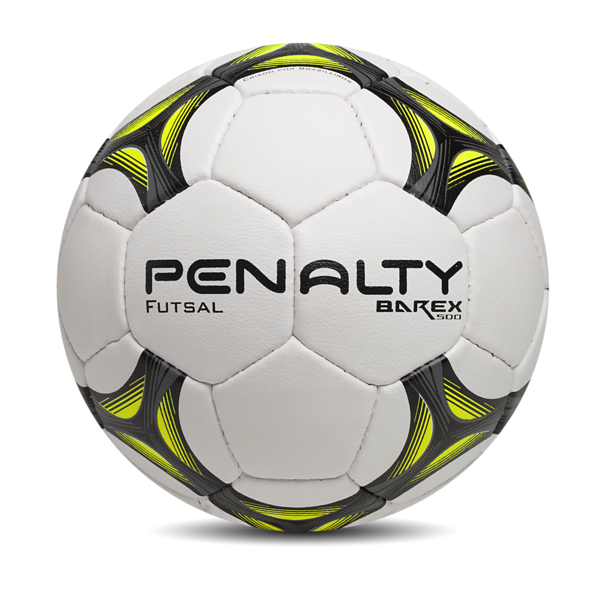 Bola Futsal Penalty Barex 500 – 510836 – Branco e Chumbo  15a3a0584b365