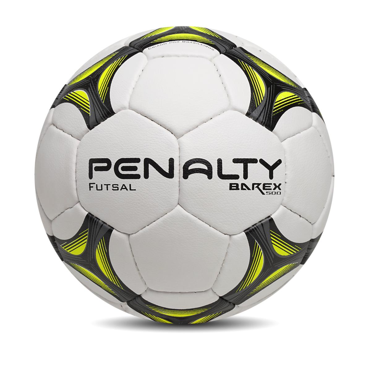 b9ae60cc32 Bola Futsal Penalty Barex 500 – 510836 – Branco e Chumbo