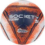 Bola Futebol Society Penalty S11 R4 VIII – Branco e Laranja